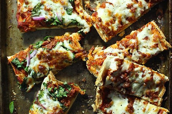 Healthy Homemade French Bread Pizza