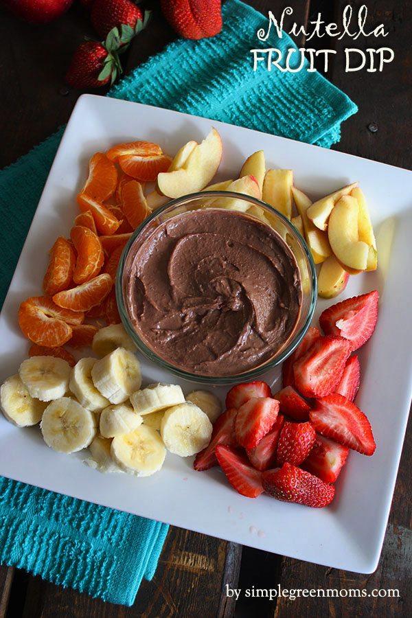 Nutella Fruit Dip main