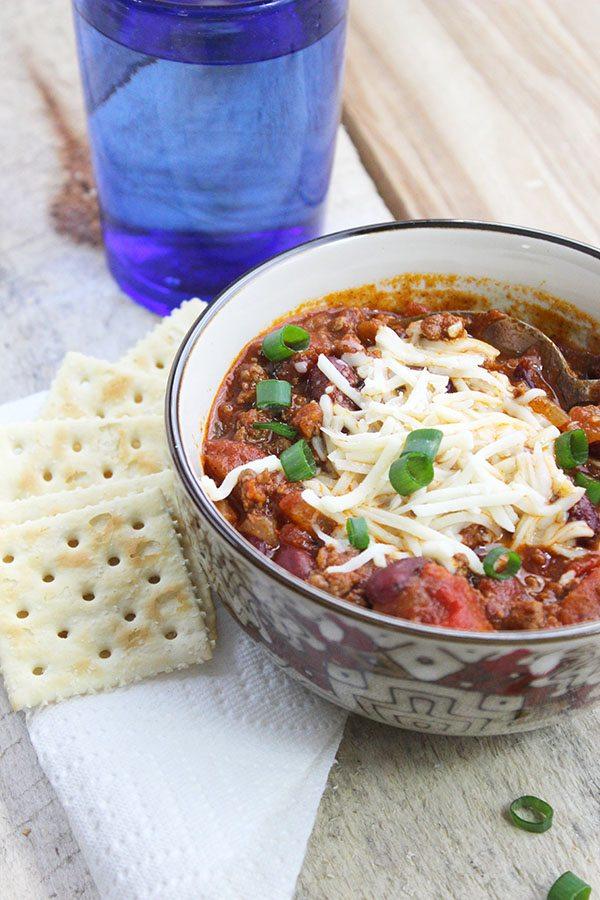 Spicy Stovetop Chili - Delicious!