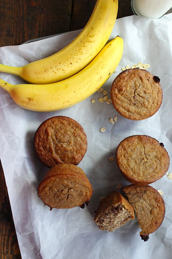 Healthy Monkey Muffins