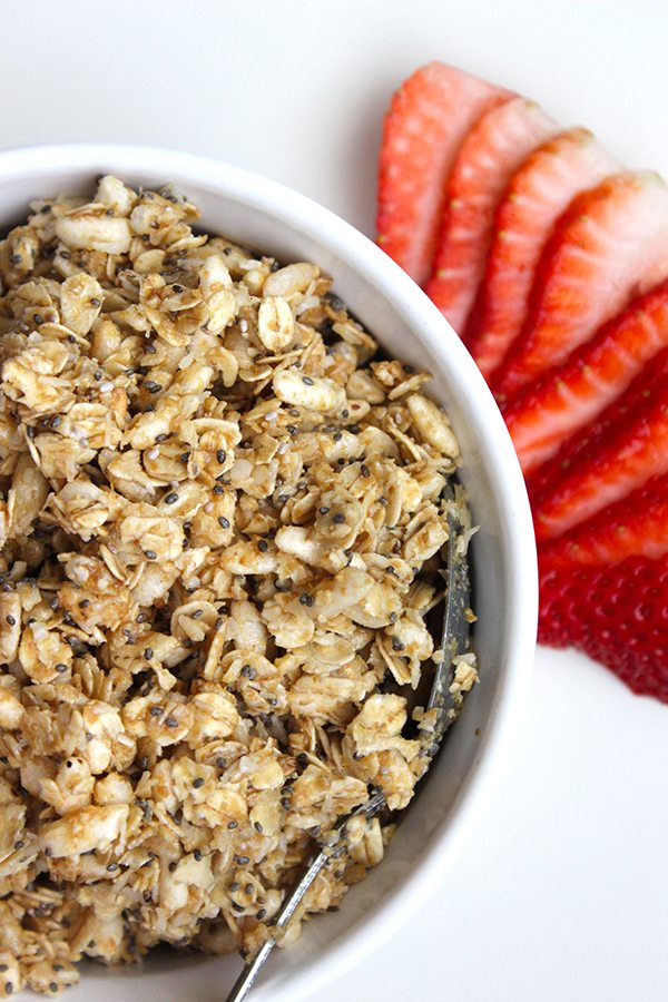 Healthy No Bake Granola - YUMMY!