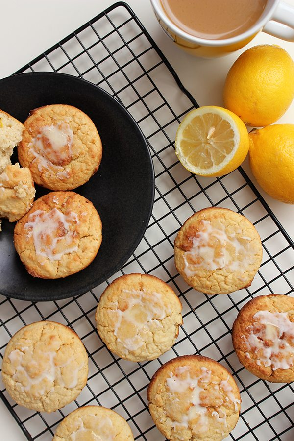Lemon Honey Muffins