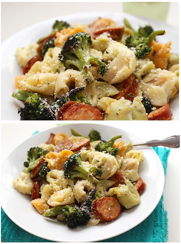 Roasted Broccoli Alfredo 33