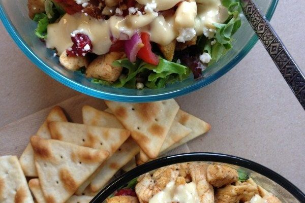 Skinny Grilled Chicken Salad