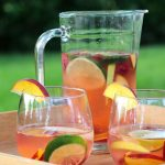 Skinny Summer Sangria by Simplegreenmoms.com