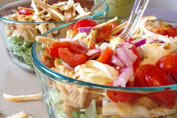Skinny Tex Mex Taco Salad