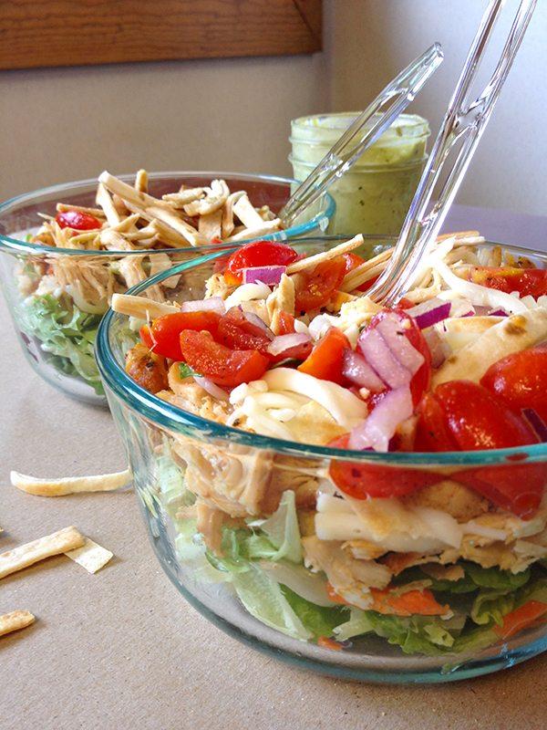 Skinny Tex Mex Taco Salad 1