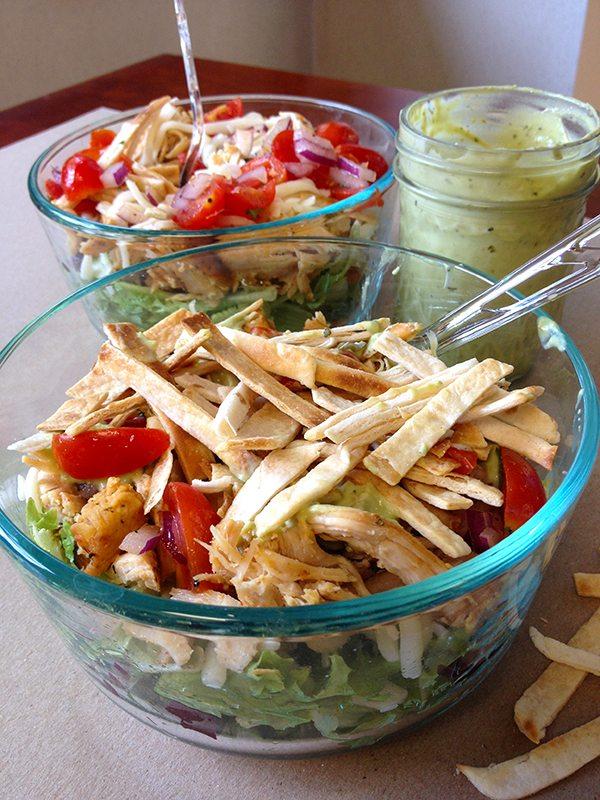 Skinny Tex Mex Taco Salad 3