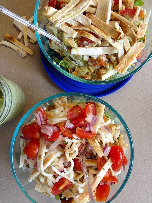 Skinny Tex Mex Taco Salad 5