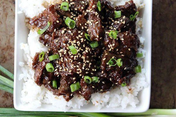 Sweet Mongolian Beef