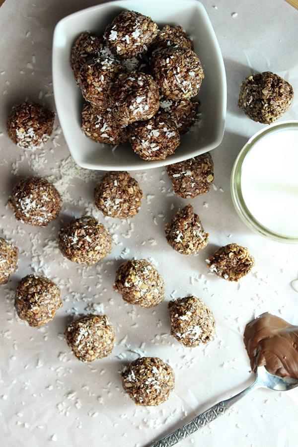Healthy Nutella Energy Bites5
