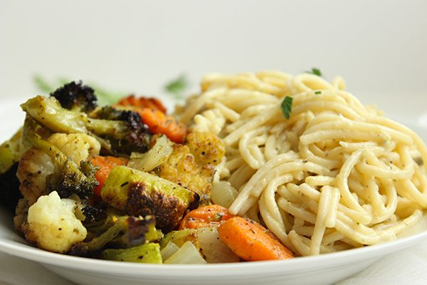 Roasted Veggie Alfredo 2