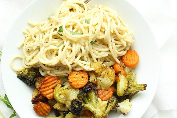 ROASTED VEGGIE ALFREDO