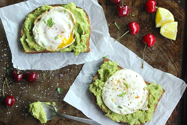 Hasil gambar untuk fried avocado eggs