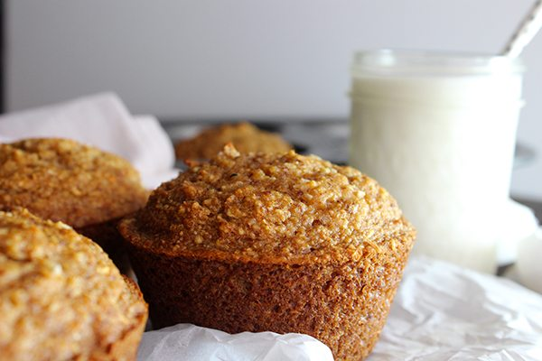 Jumbo Coconut Oil Zucchini Muffins--YUMMY!!! so Delicious!!