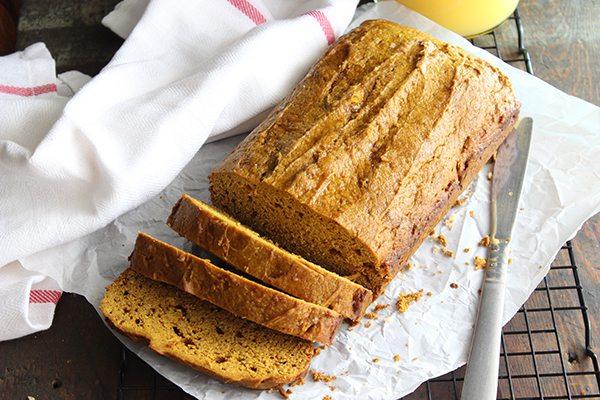 Simple Pumpkin Pie Bread - Yummy !