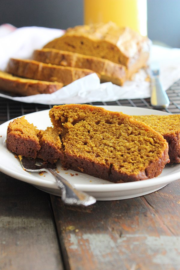 Simple Pumpkin Pie Bread - Yummy