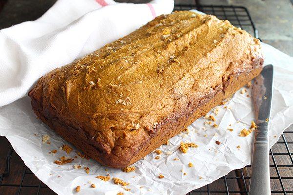 Simple Pumpkin Pie Bread - delish!!