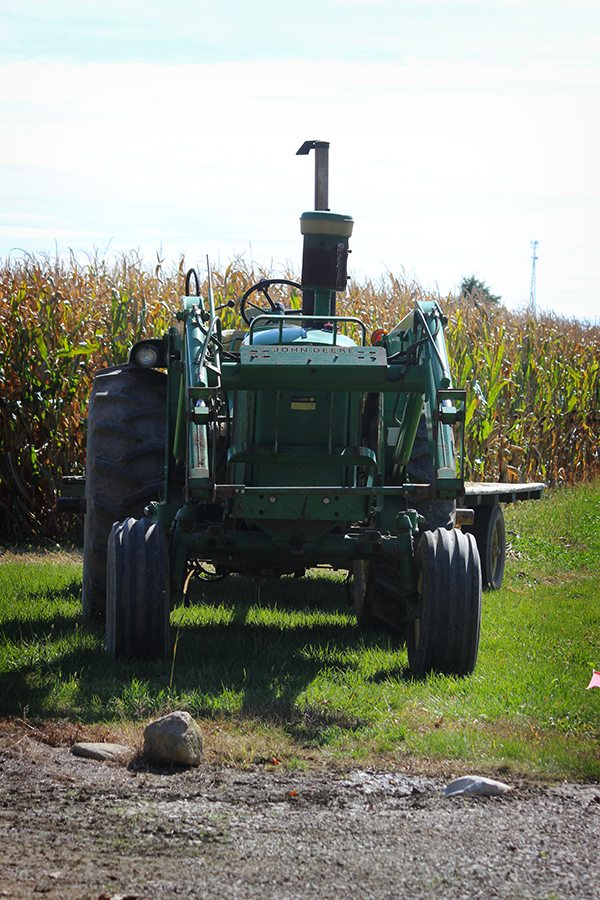 Pumpkin Festival - Tractor