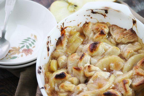 2 Ingredient Apple Dumplings - simple!