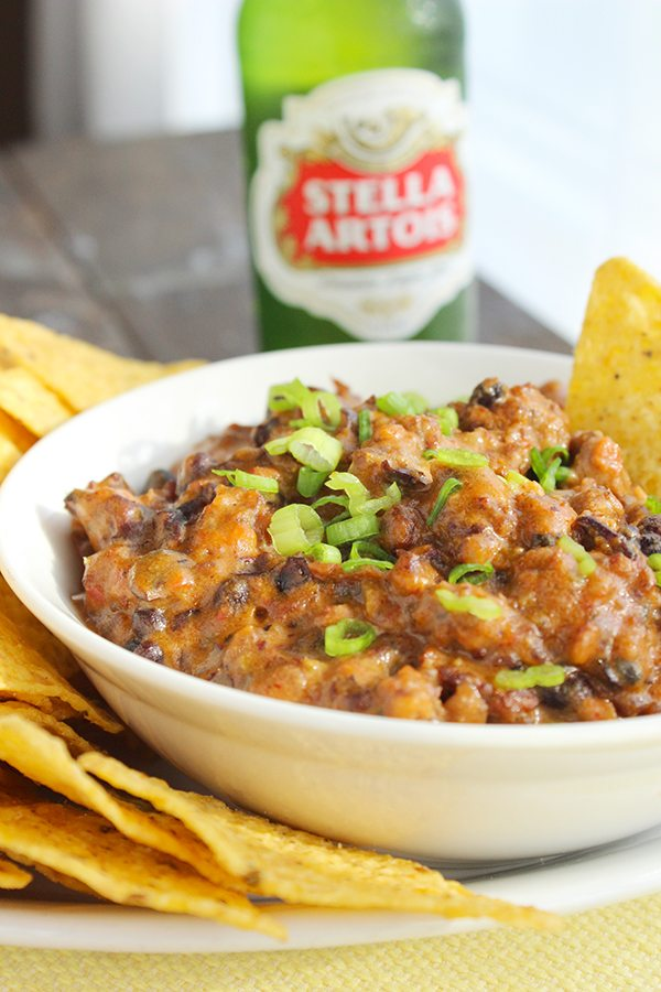 Homemade Chili Cheese Dip--Perfect Party Food!!