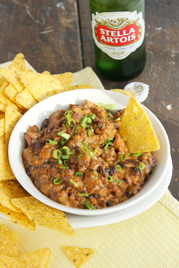 Homemade Chili Cheese Dip--Perfect for the holidays!