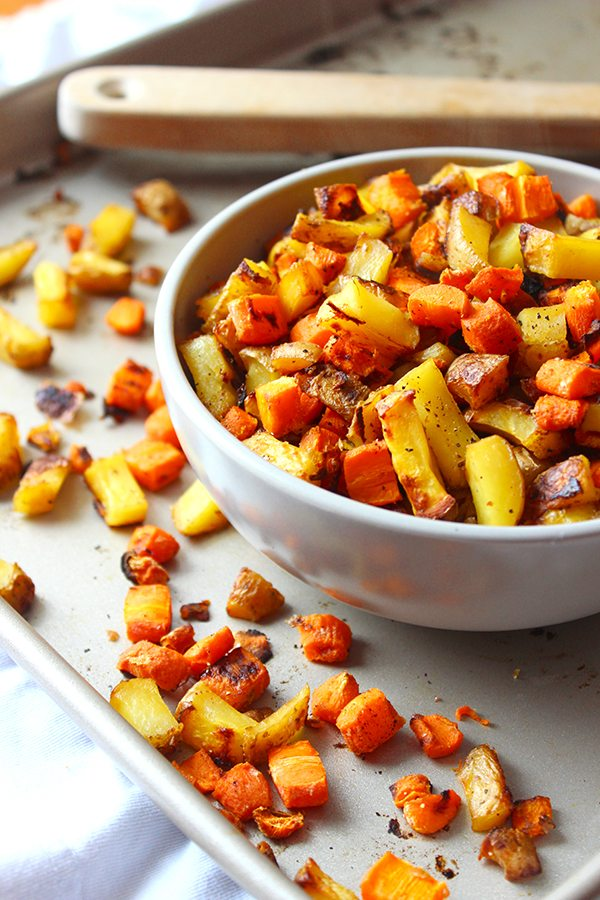 Roasted Carrots and Potatoes 2