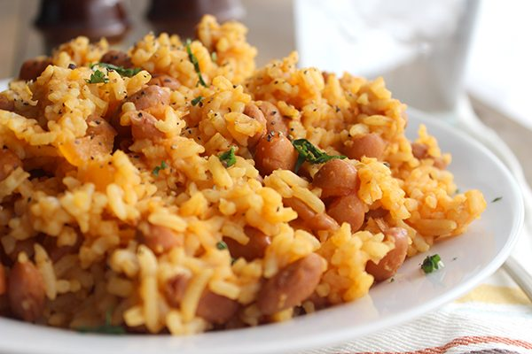 The Best Mexican Rice And Beans Family Favorite Simple Green Moms