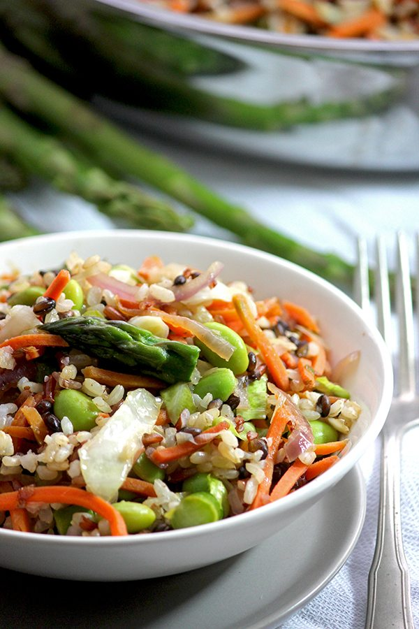 Rice and Vegetable Stir Fry