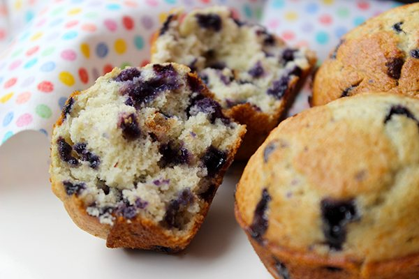 Perfect Blueberry Muffins - so good!