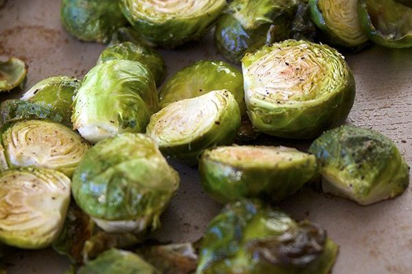 Simple Sauteed Brussels Sprouts