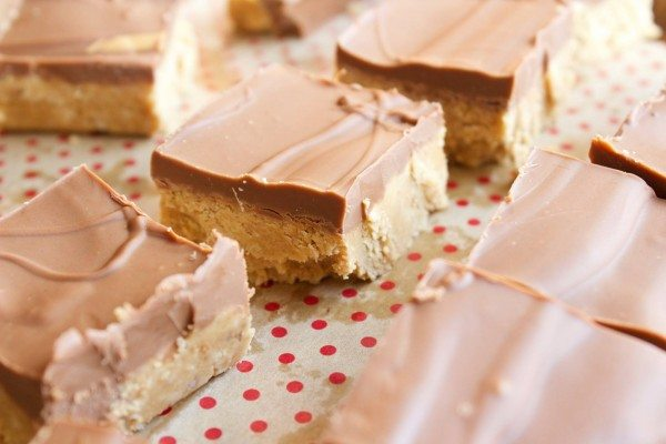 No Bake Peanut Butter Bars | Simple Green Moms