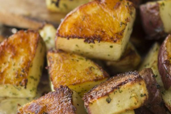 Roasted Ranch Potatoes