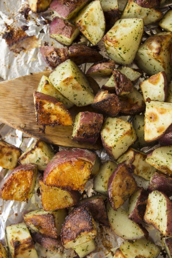 Roasted Ranch Potatoes!