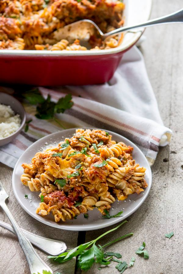 Baked Rotini | Simple Green Moms