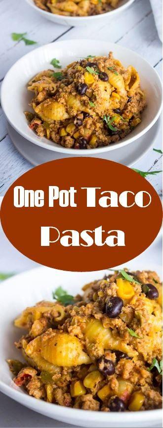 One Pot Taco Pasta