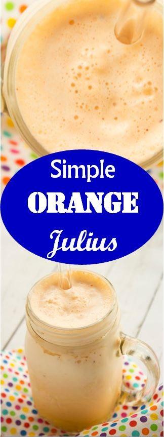 Simple Orange Julius