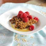 simplegreenmoms oat bake and raspberries