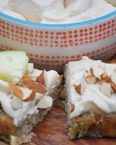 Caramel Apple Cannoli Dip