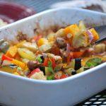 roasted sausage and veggies by simplegreenmoms.com