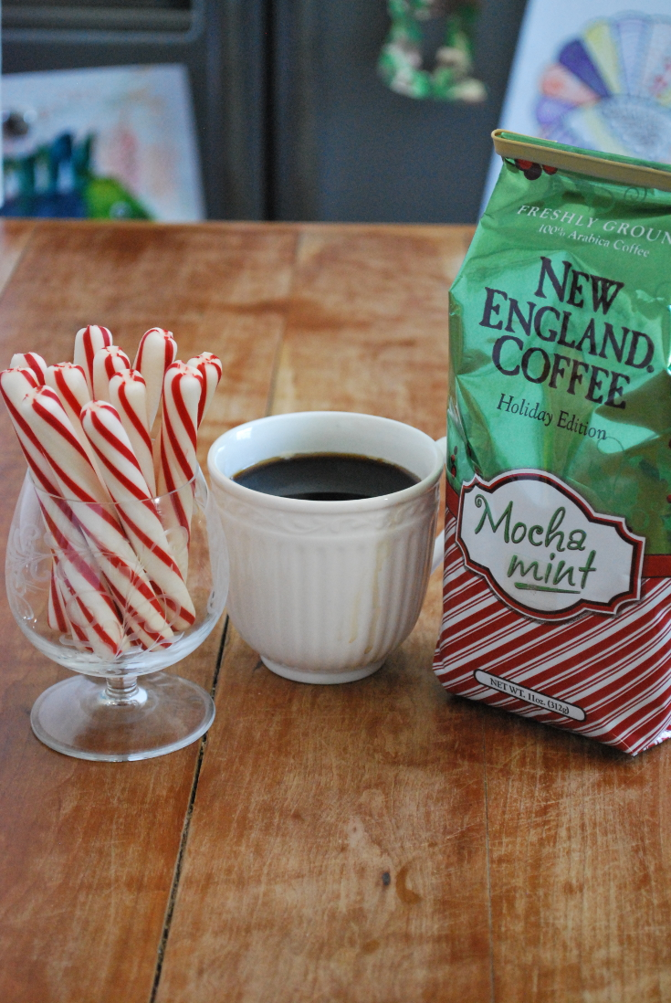 New Egland Coffee Mocha Mint milkshake