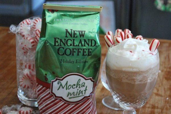 Mocha Mint Coffee Milkshake