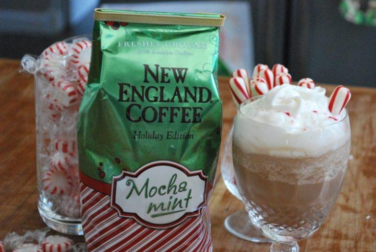 New Egland Coffee Mocha Mint milkshake