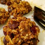 chocolate and oatmeal healthy cookies