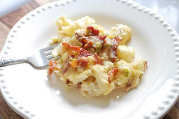Hatfield® Bacon and Cauliflower Casserole
