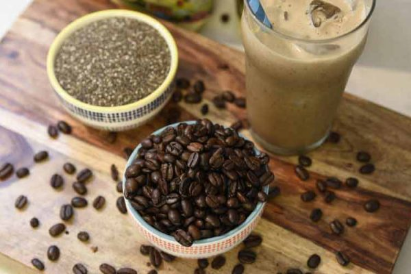 Chia Seed Iced Coffee