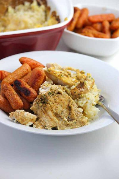 Chicken + Rice Casserole