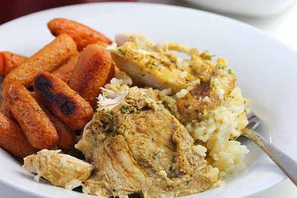 Chicken + Rice Casserole