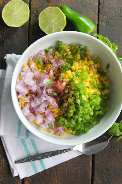 How to make Chipotle Corn Salsa