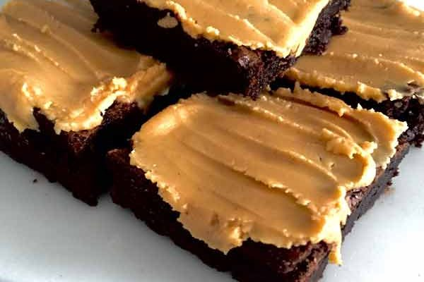 Gluten Free Peanut Butter Brownies